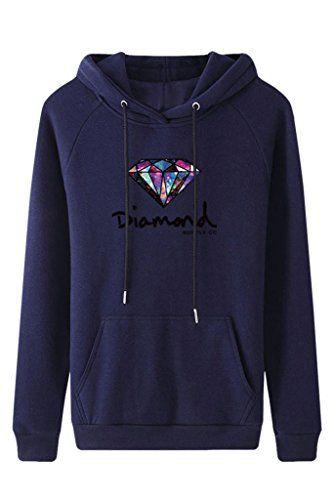 ZHU Women Long Sleeve Pocket Hoody Hoodie Hooded Sweatshirt Pullover Jumper Coat Top - http://darrenblogs.com/2015/12/zhu-women-long-sleeve-pocket-hoody-hoodie-hooded-sweatshirt-pullover-jumper-coat-top/