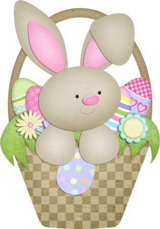 Happy Easter Pascua Conejos Rabbit Png Fondo Transparente