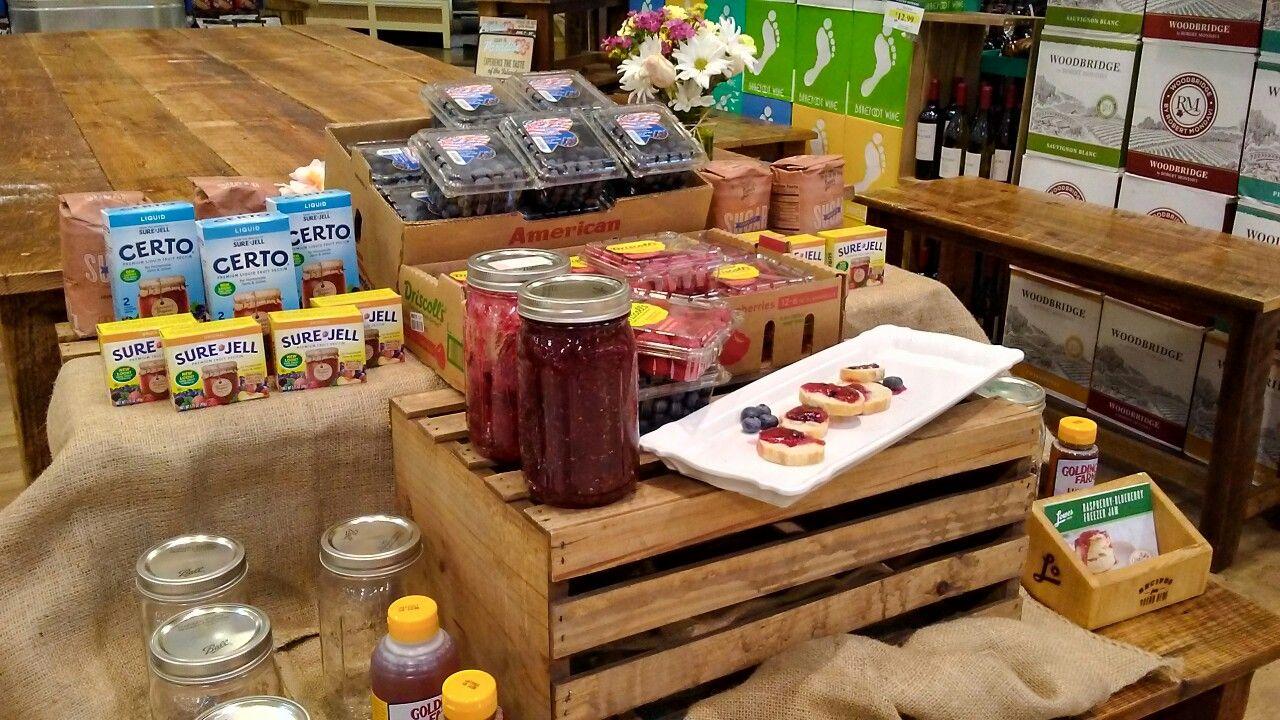 RaspberryBlueberry Freezer Jam. A great way to preserve
