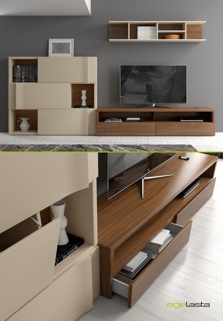 Muebles egelasta live mueble madera moderno - Nogal americano muebles ...