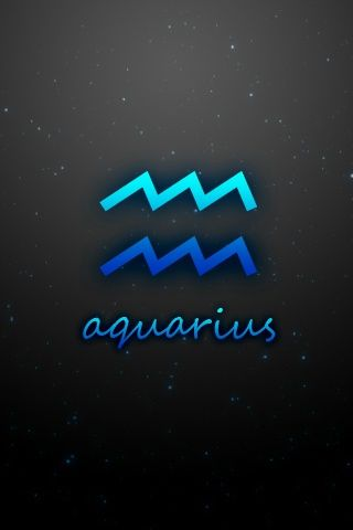 Aquarius Iphone Wallpaper And Ipod Touch Wallpaper Zodiac Signs Aquarius Aquarius Sign Iphone Wallpaper