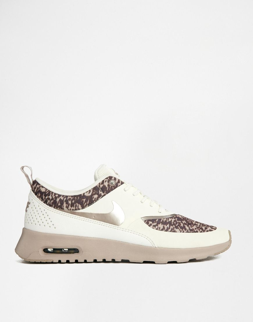nike air max thea trainers beige