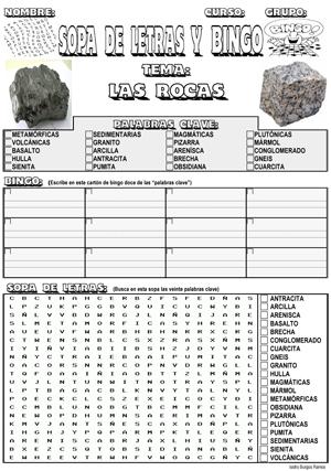 ideas para trabajar las rocas y minerales niños - Buscar con Google ...