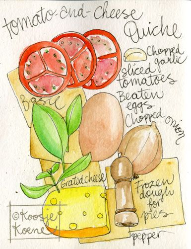 Drawing Food #Art #journal #draw #sketch