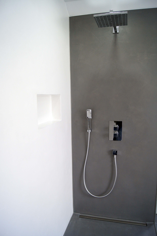 Bad Ohne Fliesen Fugenloses Bad Badezimmer Dusche Renovieren