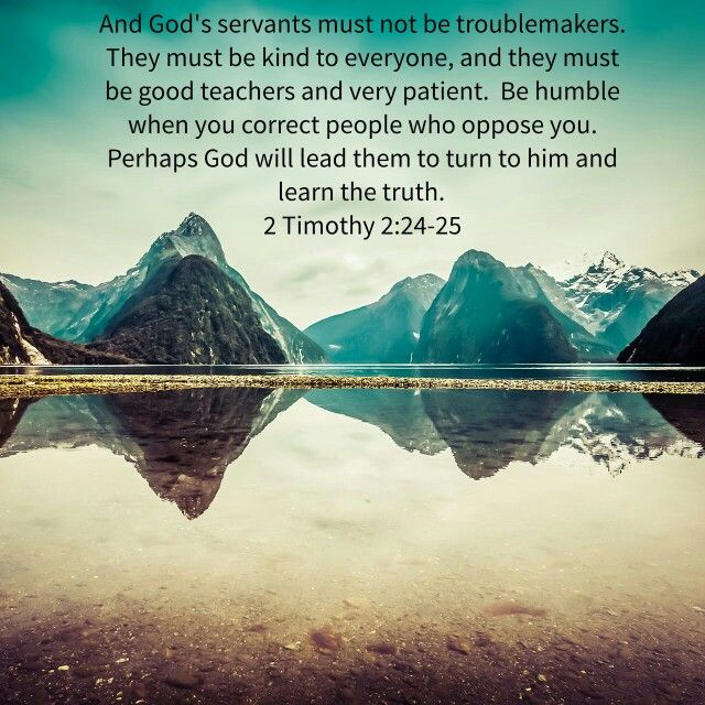 Image result for 2 Timothy 2:24-25