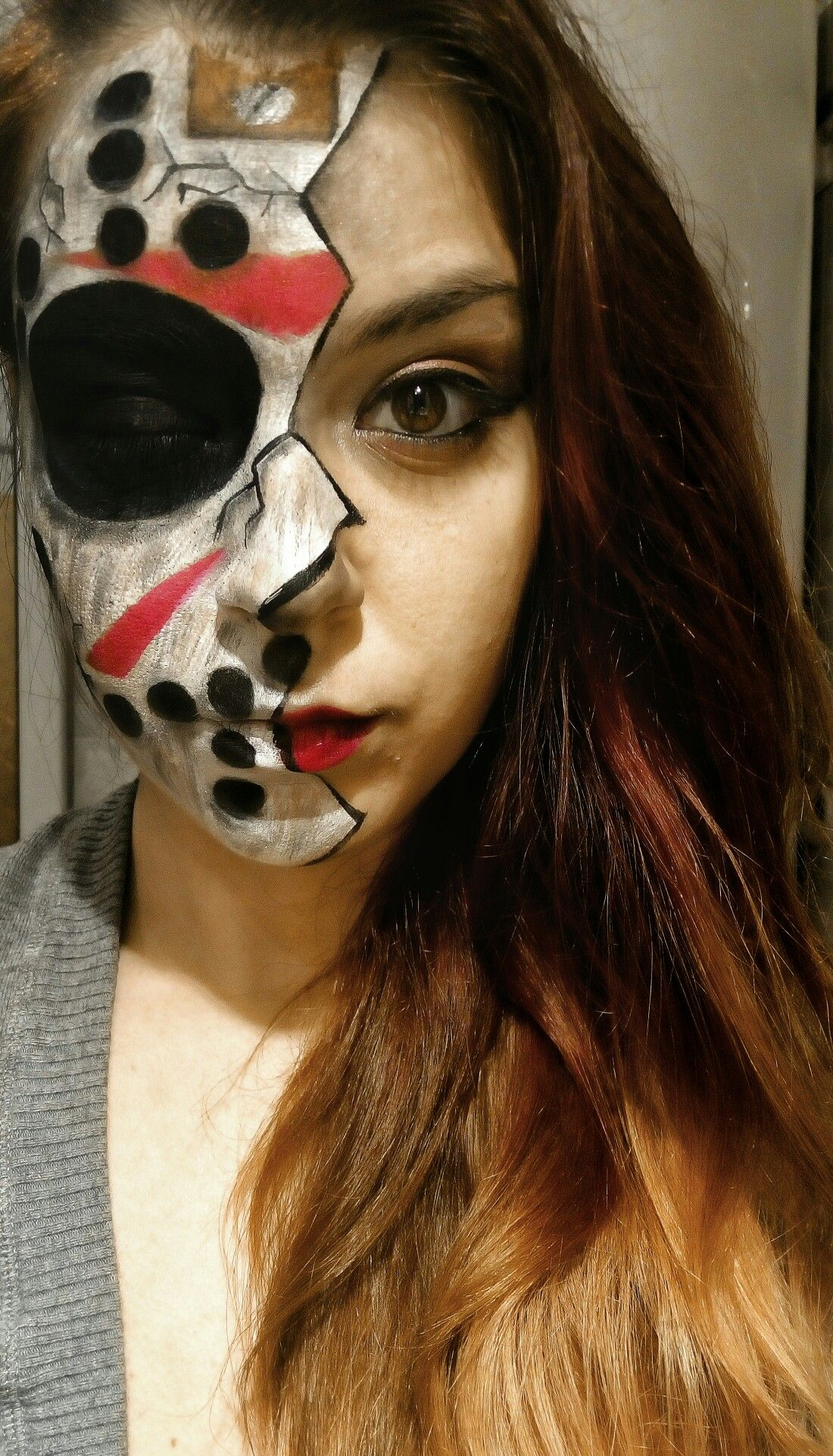 Halloween Costume Jason Friday 13th.Friday The 13th Jason Mask Makeup Mine Mask Makeup Halloween