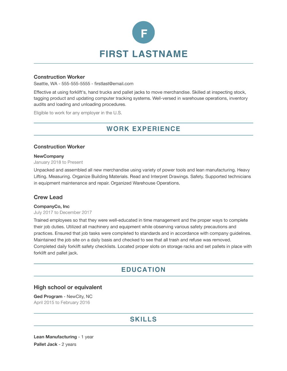 Resume Builder in 2020 Free resume samples, Resume