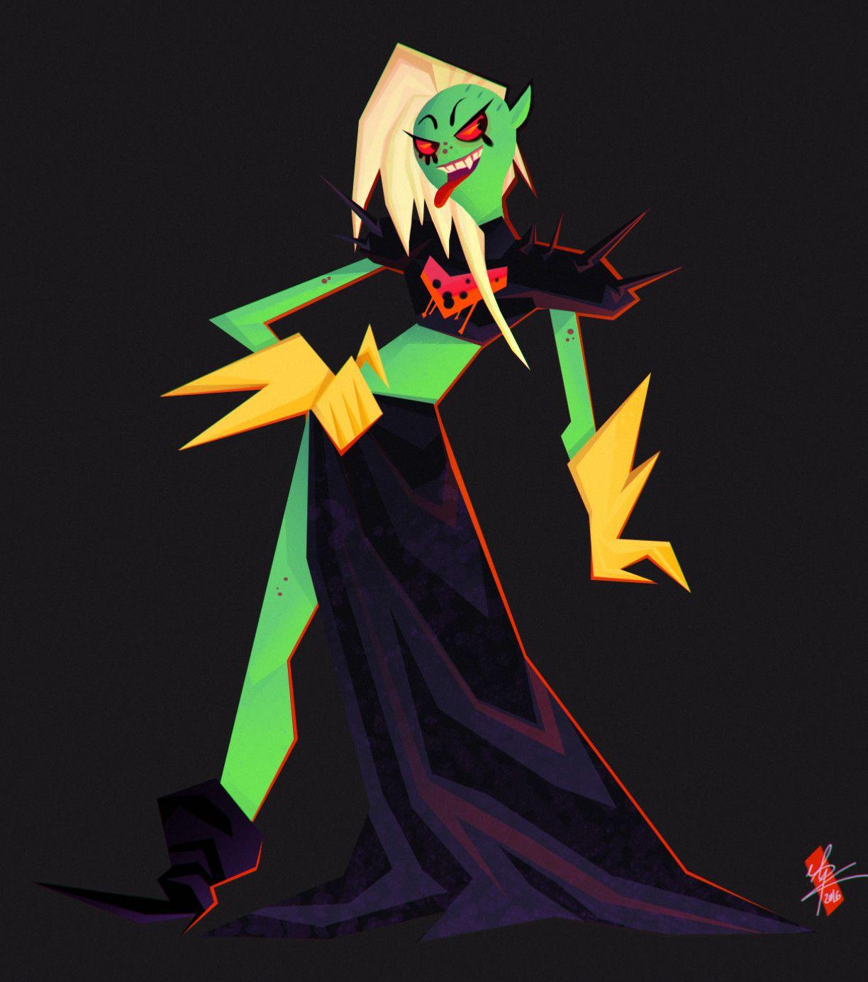 ArtStation - Lord Dominator, Lilith Pilgaard Knudsen