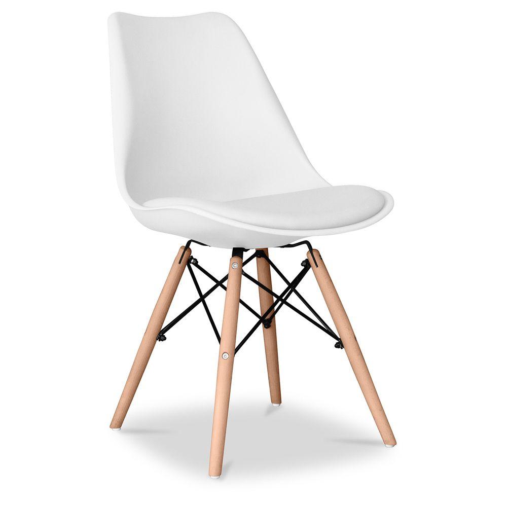 Chaise Style Geneva Avec Coussin Polypropylene Mat Chaise Dsw Et Chaise