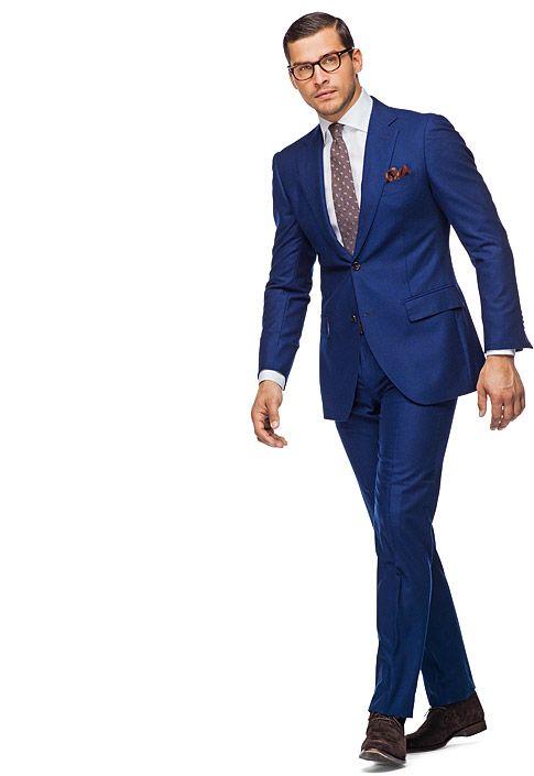 lowest price 1eba3 15744 Suit Blue Plain Napoli P3425i   Suitsupply Online Store ...
