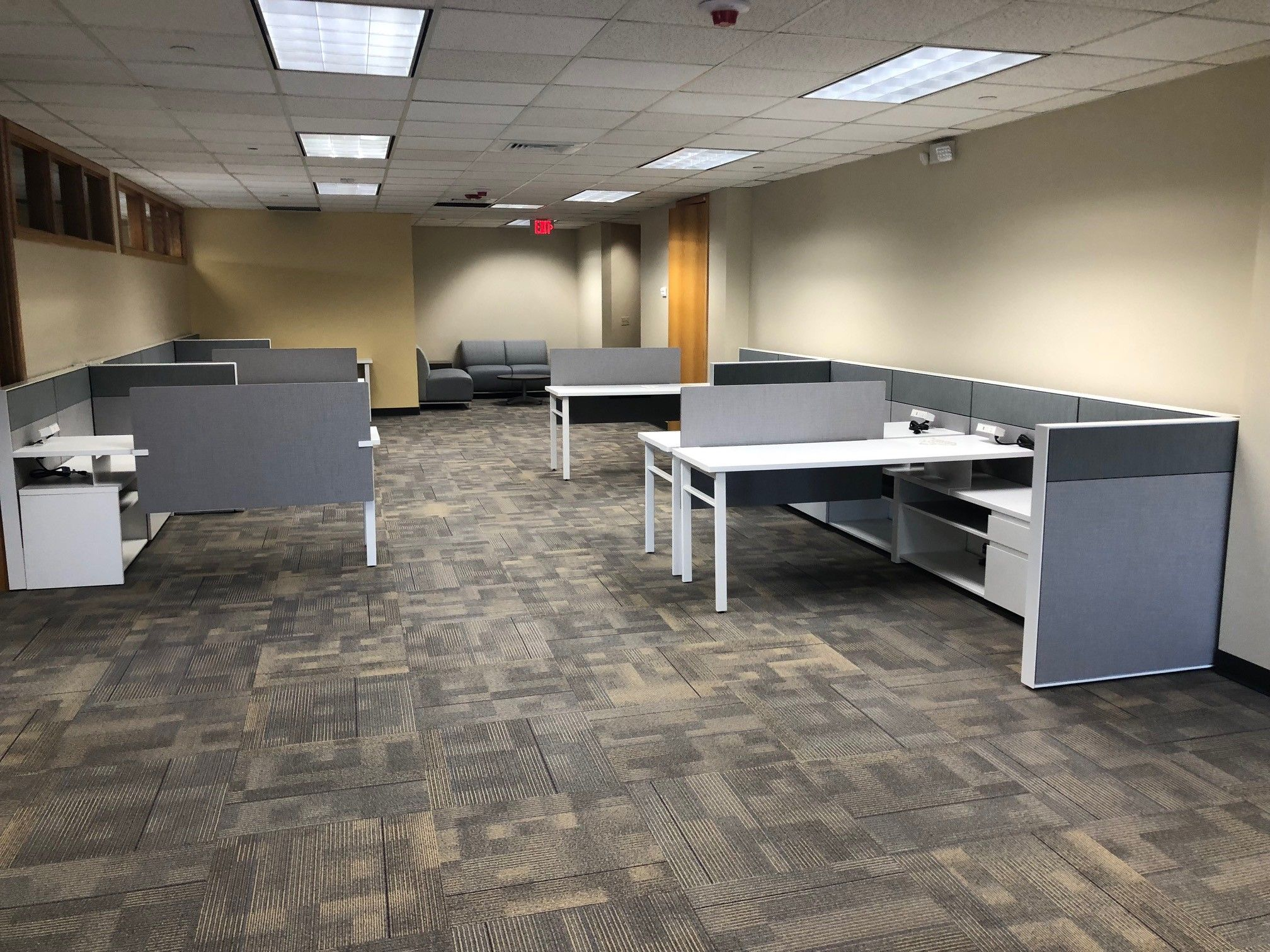 Haworth Inc. Compose products, designed by Workplace