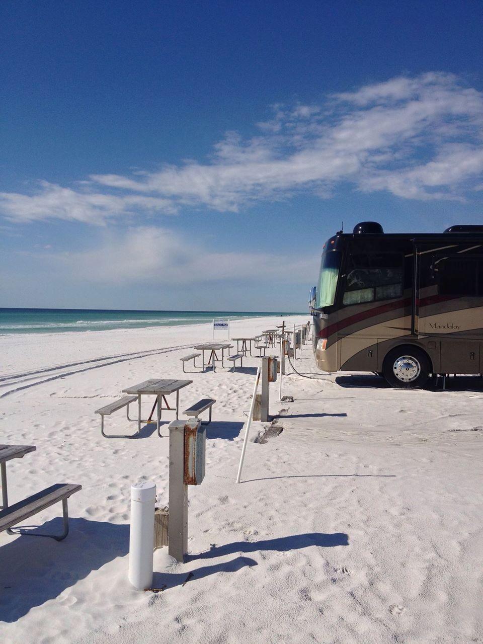 Camp Gulf Destin Fl Rv Vacation Camping Destinations Go Camping