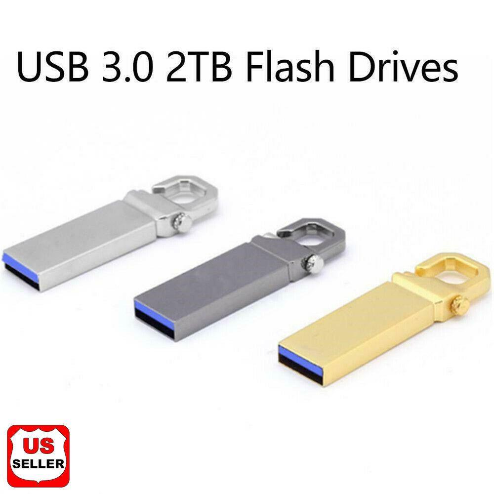 USB 2.0 Flash Drive Pen 1TB 2TB 32GB Swivel OTG Memory Stick Key Thumb Storage