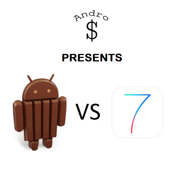 Android 4.4 vs iOS 7