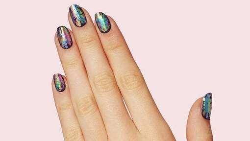 Nieuwe en makkelijke nageltrend: de Oil Slick Nails - HLN.be