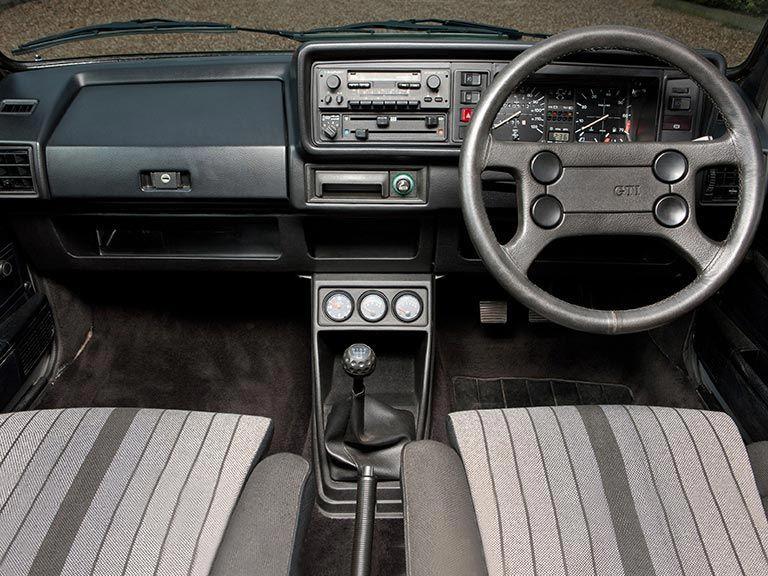 VW Golf GTI front seats and dashboard | Volkswagen/Audi | Volkswagen