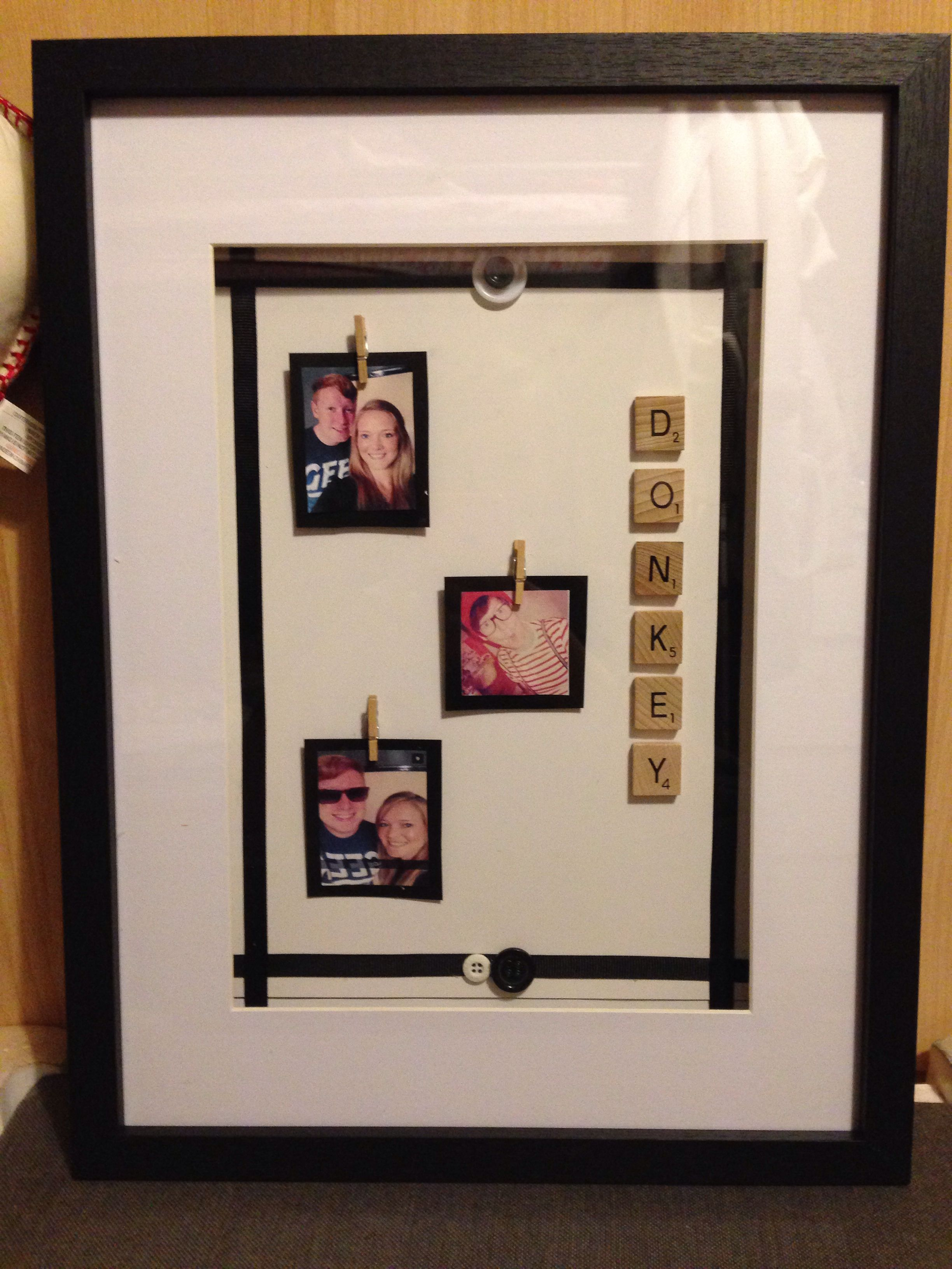 Friend scrabble art frame | Craft | Pinterest | Scrabble art ...