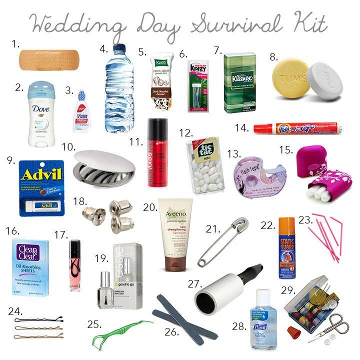 Wedding Day Emergency Kit Пошук Google
