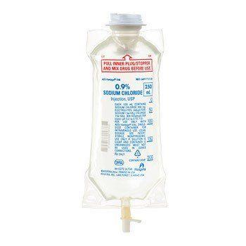 250 ml 0 9 sodium chloride iv bag free