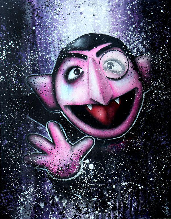 Count Von Count By Vaughnb Deviantart Com On Deviantart The Muppet Show Muppets Art