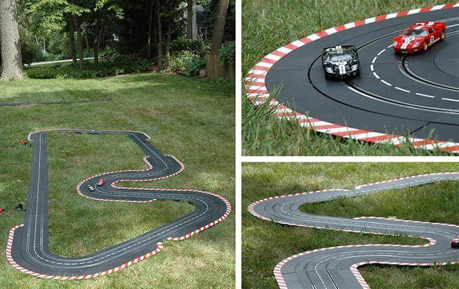 Diy Outdoor Toy Car Track Buscar Con Google Diy Outdoor Toys Diy Outdoor Outdoor