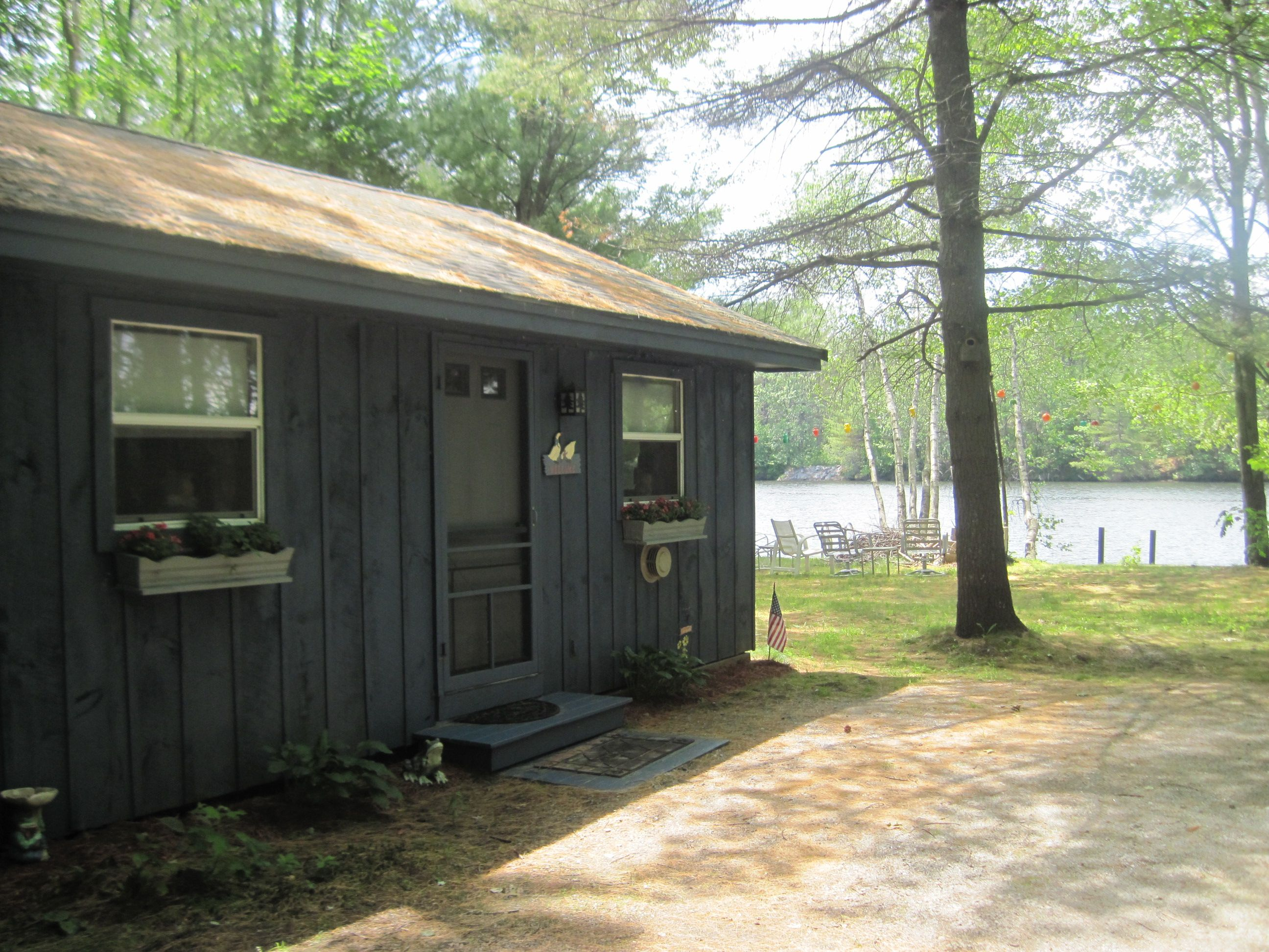 campsites in the cabin summer along cabins rentals river friendly pet nh and tents campground hampshire new