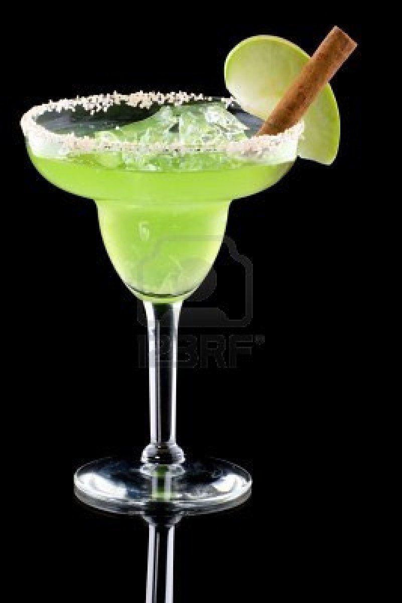 Green apple margarita recipe margaritas apples and for Green alcoholic drinks recipes