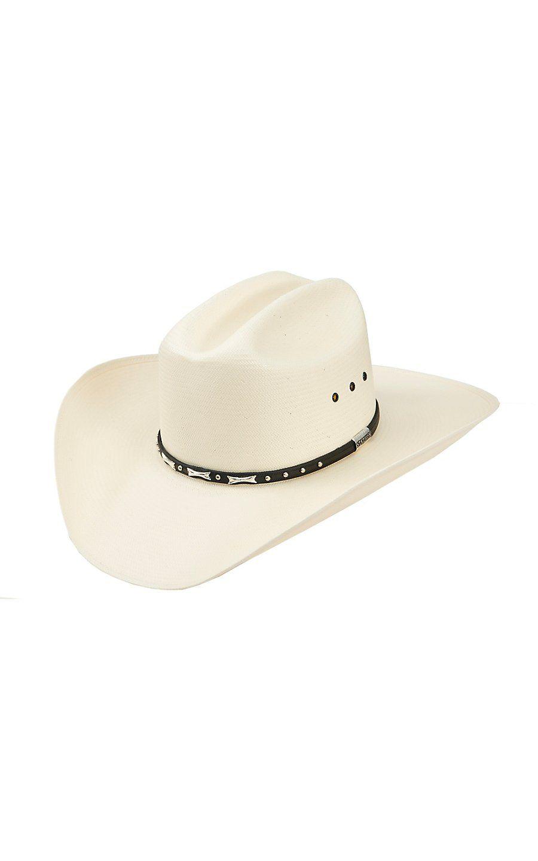 d06c044733711 Stetson® 10X Trey Natural Shantung Straw Cowboy Hat