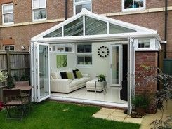 love the doors | sunrooms | Pinterest | Conservatories ...