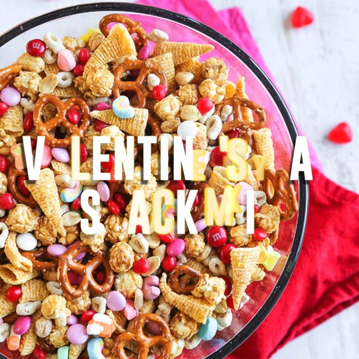 Valentine's Day Snack Mix {VIDEO} — Pip and Ebby