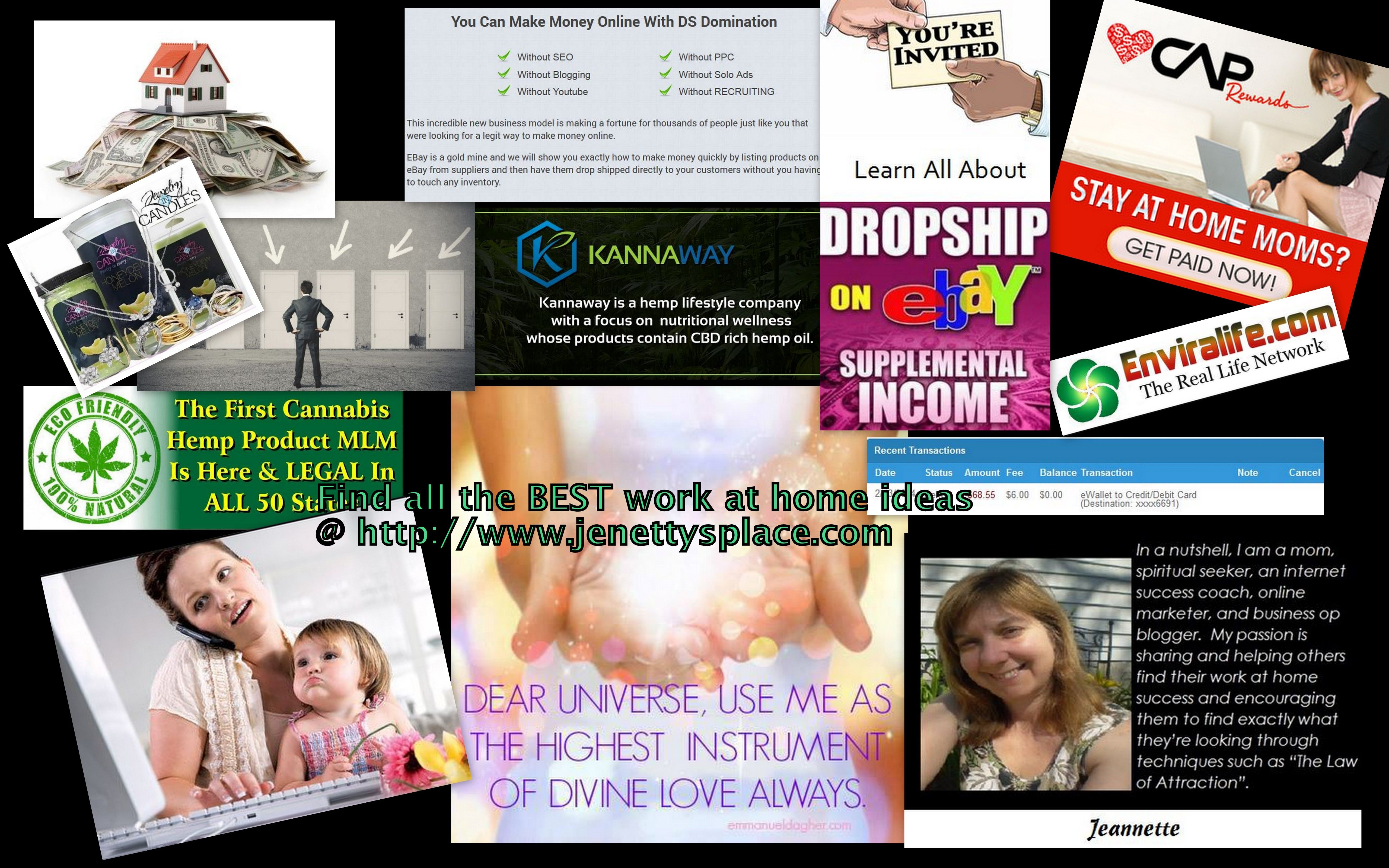 You can find great ways to make money at home I can help