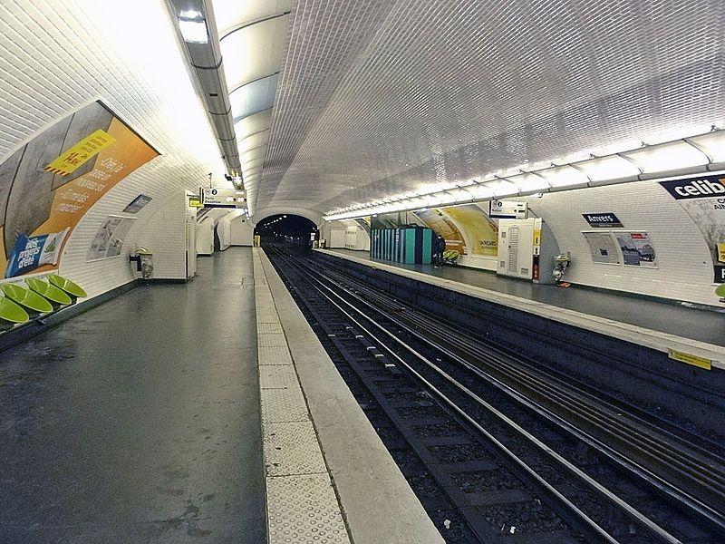Metro de Paris - Ligne 2 - Anvers