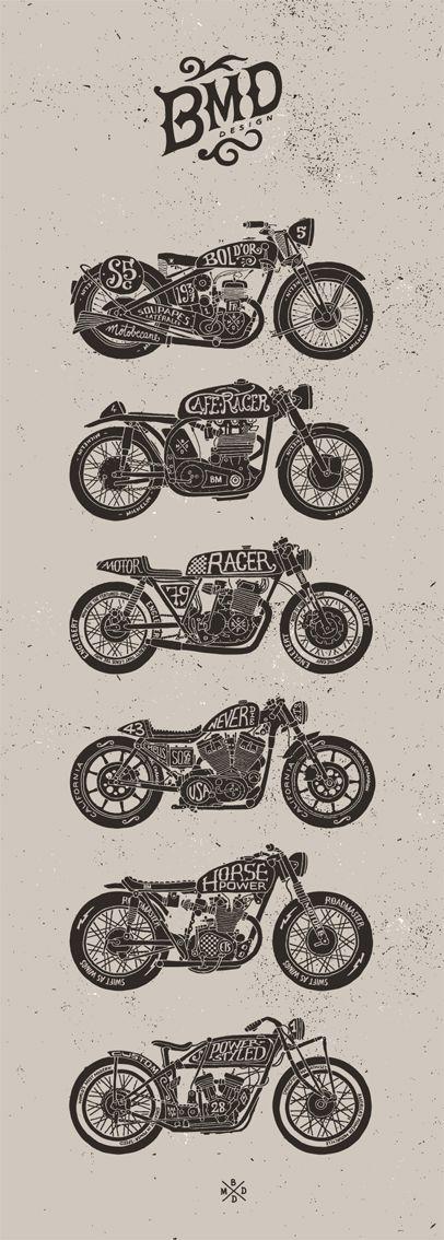 Motorcycle art: