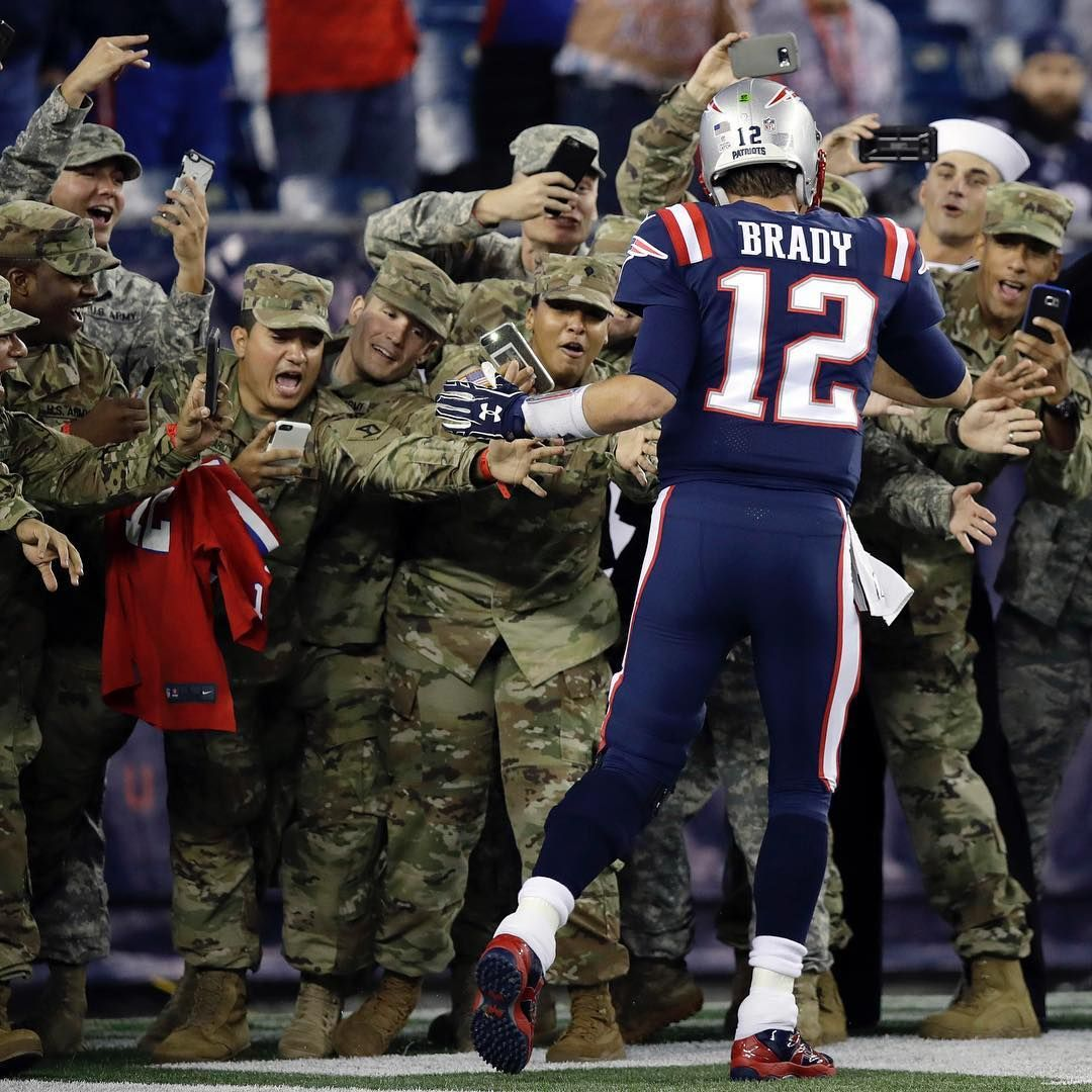 Even The Military Loves Tb12 New England Patriots New England Patriots Football Patriots