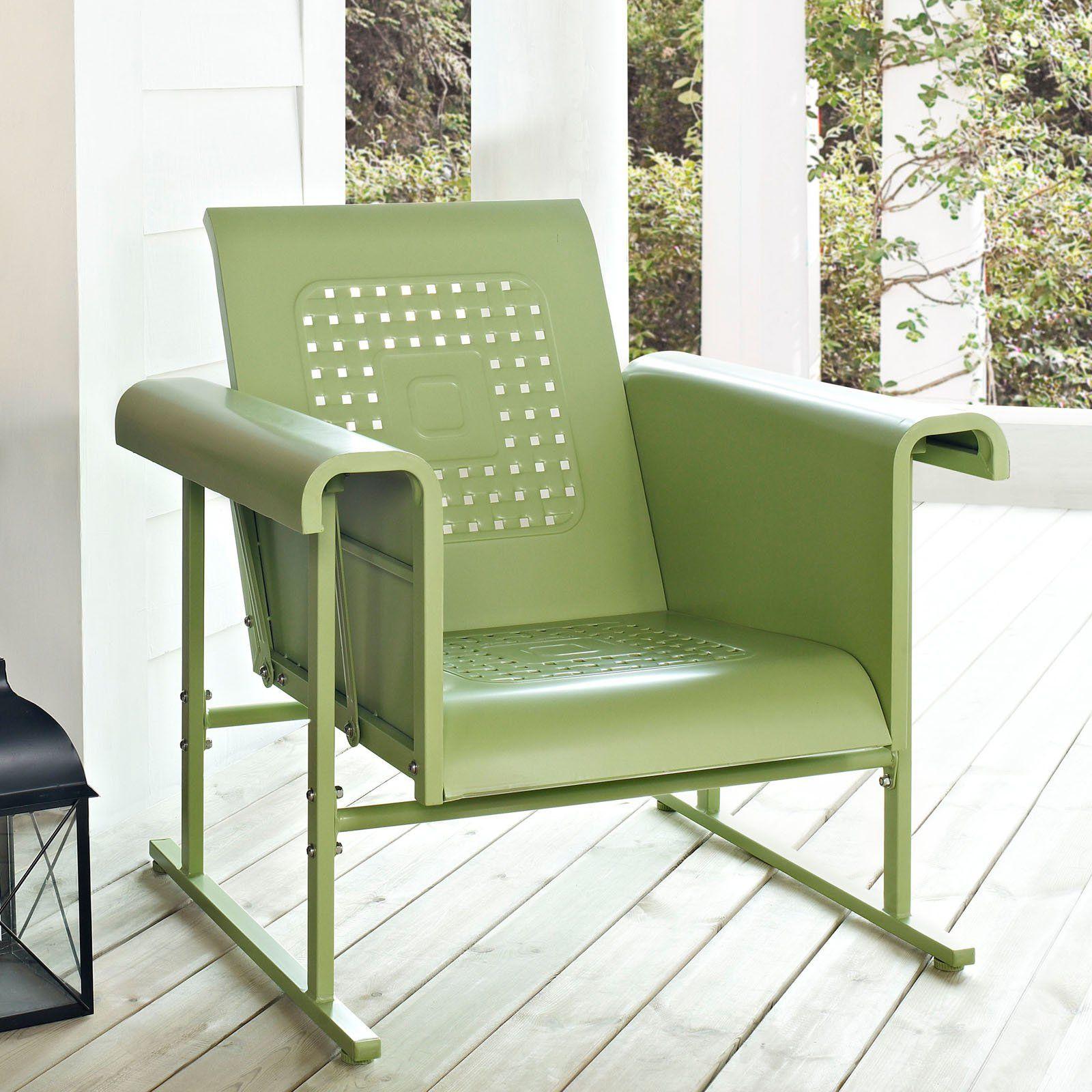 2018 Crosley Veranda Single Glider Chair Best Paint for