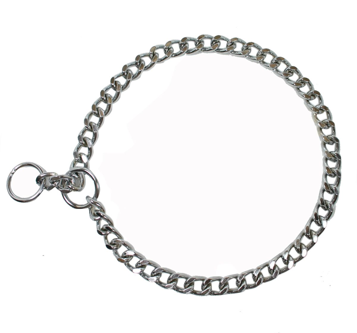 Dog Collar Choke Chain Thick 22 Inches
