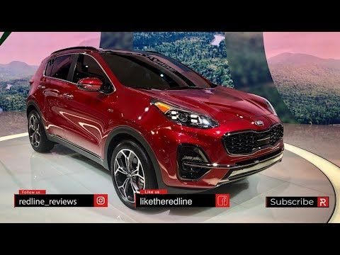 2020 Kia Sportage Redline First Look 2019 Chicago Auto Show Youtube Sportage Kia Sportage Chicago Auto Show