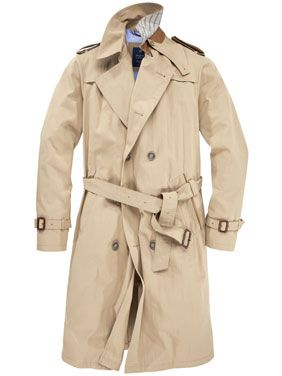 Bugatti langer Trenchcoat, beige #Hirmer #Jacken