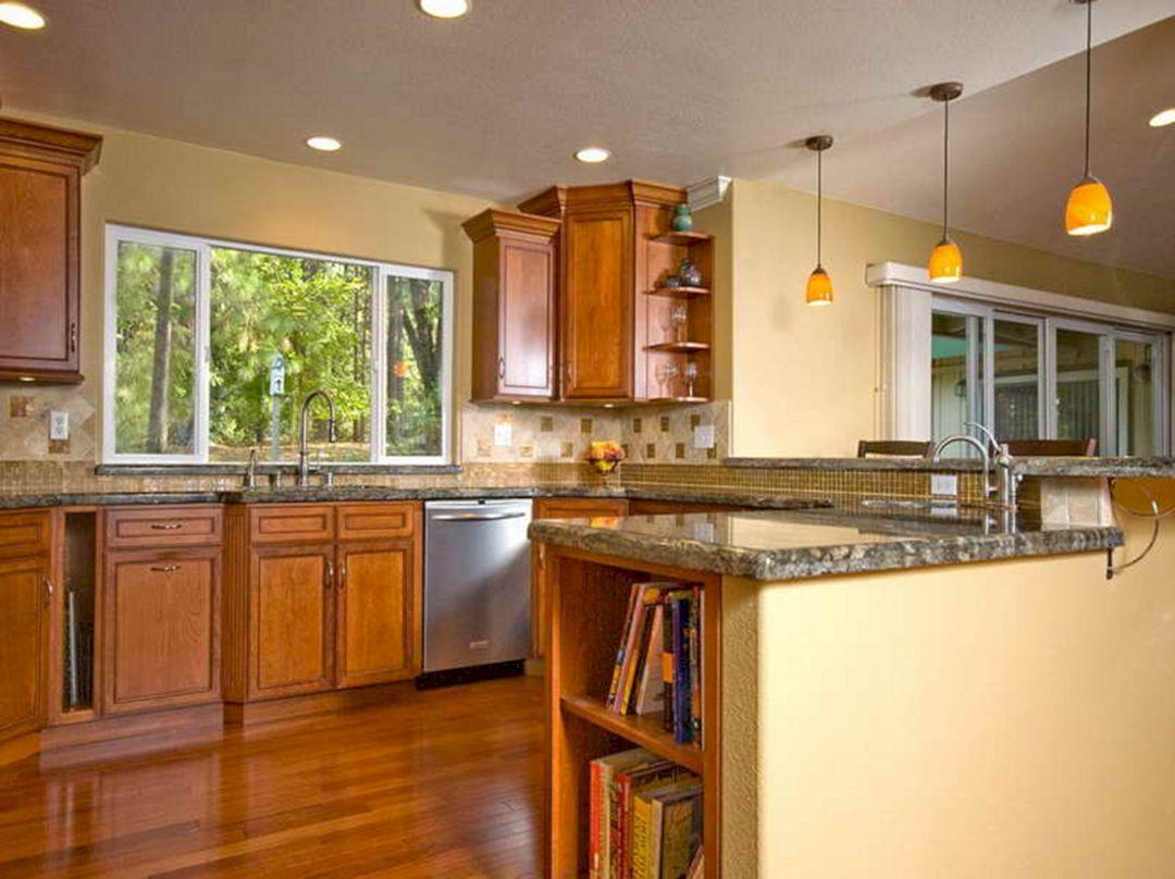 40 Best Kitchen Wall Paint Colors In Your Home Freshouz Com Kitchen Design Color Farmhouse Kitchen Remodel Kitchen Colors Small kitchen paint color