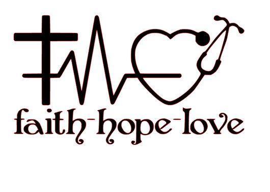 Download Faith Hope Love for Nurses SVG File   quilt fun ...