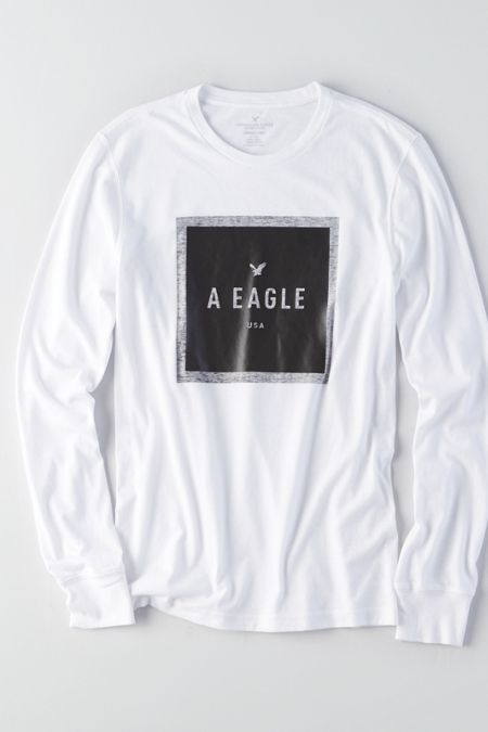 9f9c080d7 AEO Long Sleeve Hoodie T-Shirt