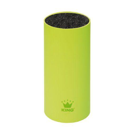 http://ift.tt/1RroAWM King BL1022 Messerblock soft touch Größe circa 225 x 12 cm grün @Key Featurescilase#