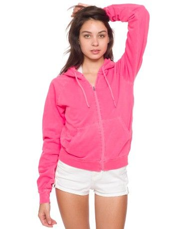 Unisex Highlighter California Fleece  Zip Hoody