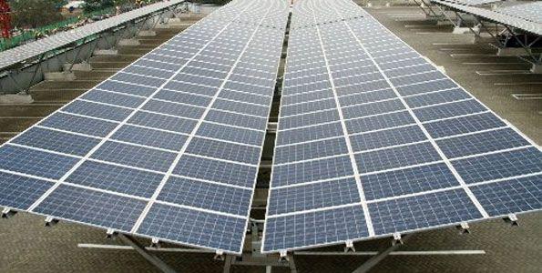 Construction Of Solar Carport In Kenya To Benefit Garden City Mall Solar Panels For Home Solar Best Solar Panels