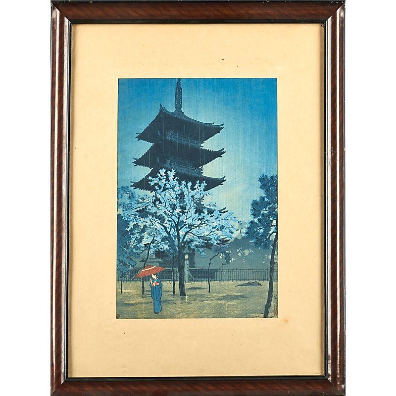 1621 SHIRO KASAMATSU (Japanese, 1898-1991) Estimate $500 - $700