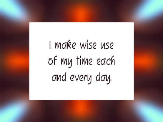 Daily Affirmation for November 5, 2013