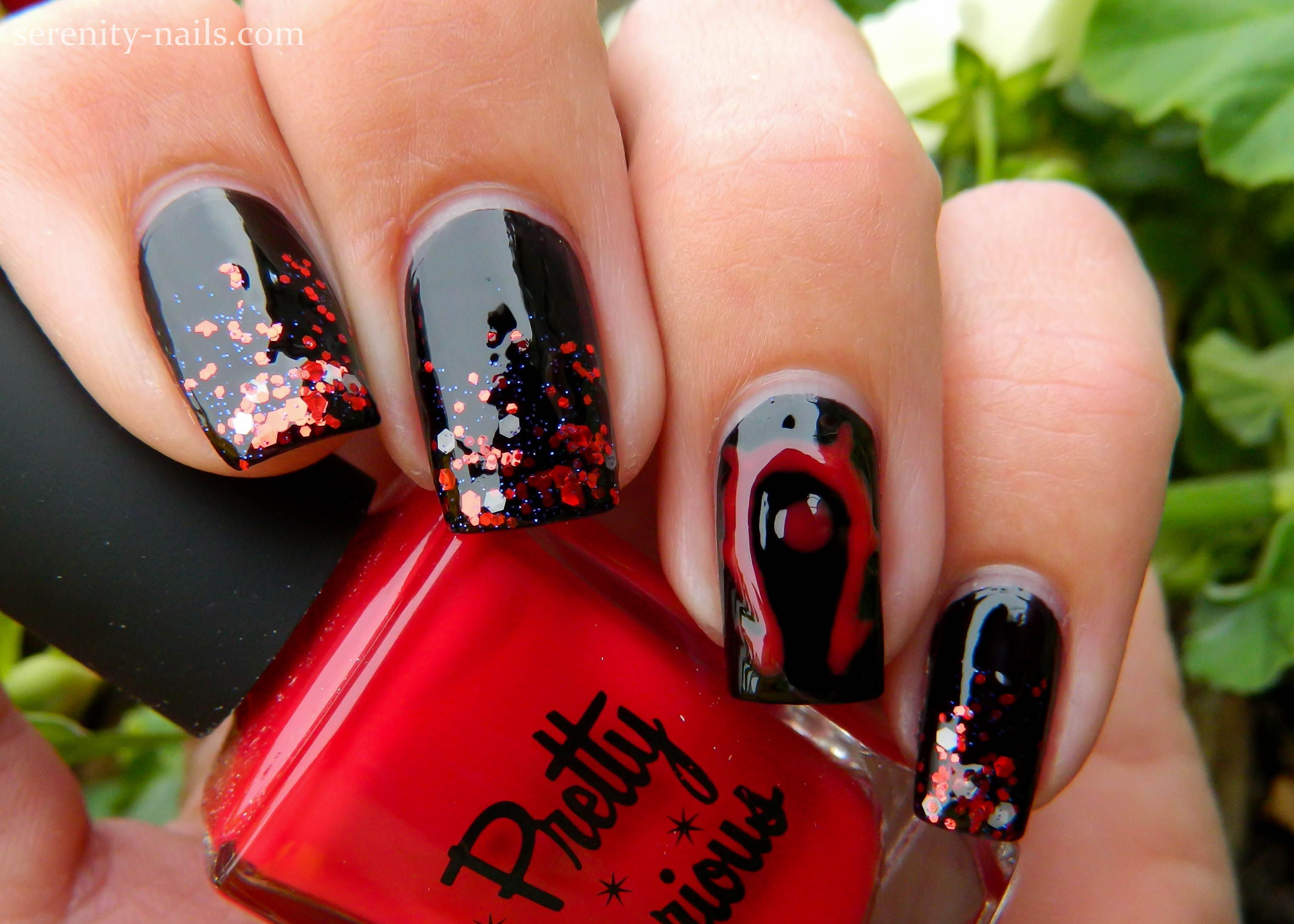 Horde Nails Celestial Cosmetics Armageddon Pretty Serious Something Strange Hell On