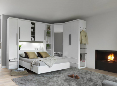 Dressing integre home chambre dressing pinterest Lits armoires adultes