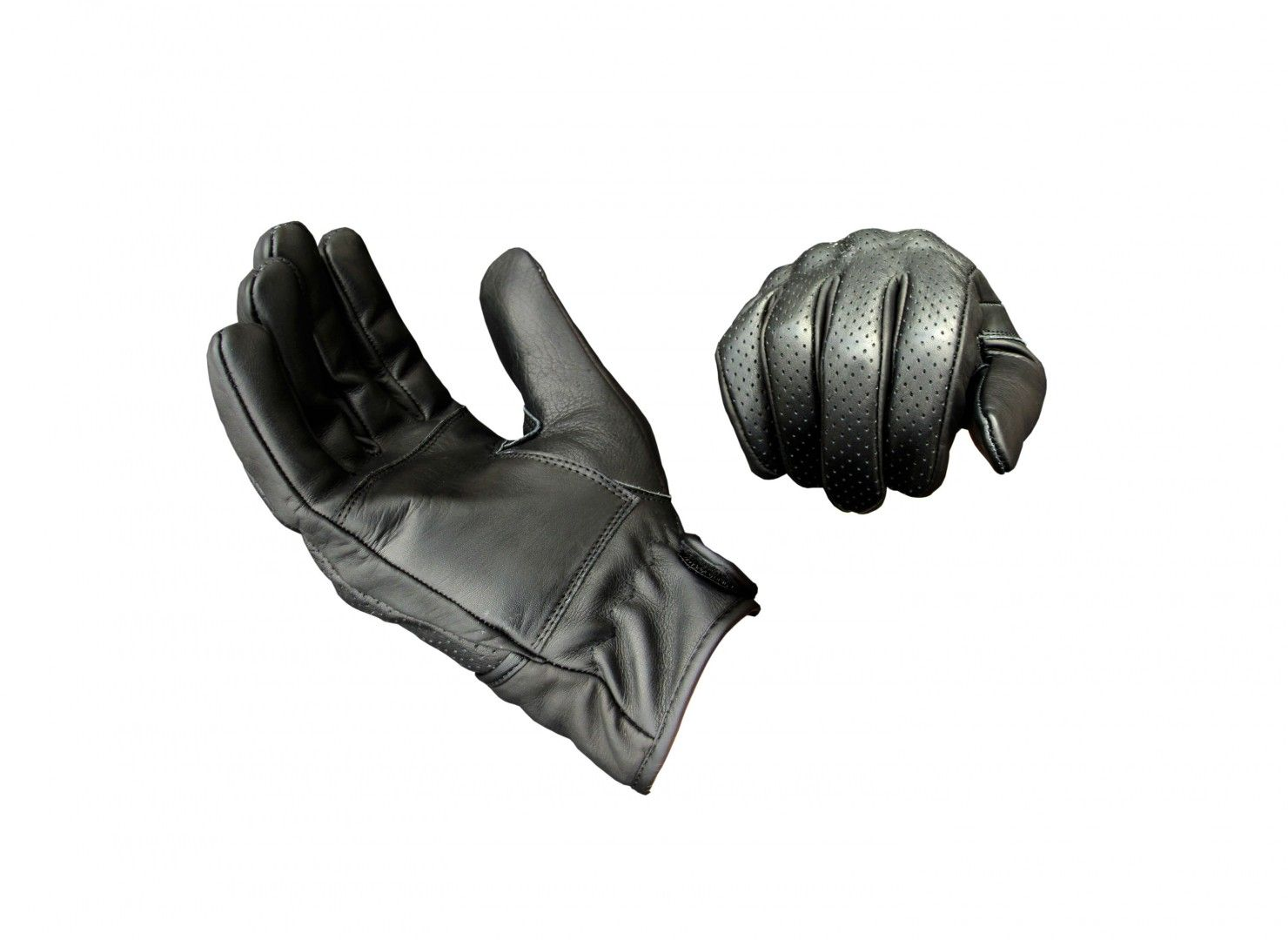 Suus black moto gloves gloves and motorcycle gear